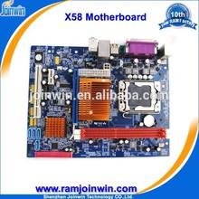 Real manufacturer support ddr3 1333 1066 800 x58 lga 1366 placa base