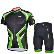 2014 quick dry sublimation print OEM custom cycling clothing set