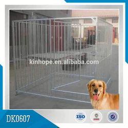 Decorative Chrome Large Steel Dog Cage