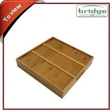Factory New Promotion Quality Custom Bamboo Tea Tray