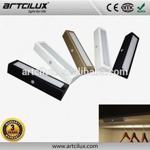 3 Year Warranty Popular Plastic Mini PIR sensor battery Motion sensor led lighting for cabinet furniture