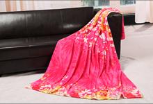 Fashion 100% Polyester Coral Feece Super Warm Blanket