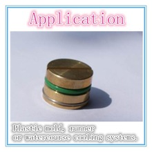 Good quality pipe plug brass plug plastic mould component