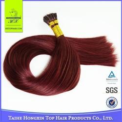 cheap remy human hair weaving wholesale Brazilian 99j I tip hair