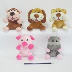 Manufacturer soft 13cm small animal plush toys