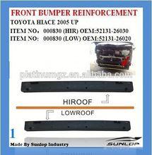 toyota hiace front bumper reinforcement 52131-26030 52131-26020