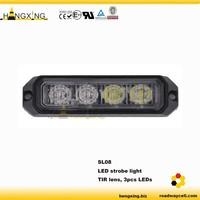 SL08 ECE R65 4 LEDS grille strobe light
