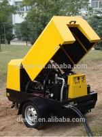 8.5 m3/min 10bar Germany Diesel Mobile Air Compressor for Sandblasting