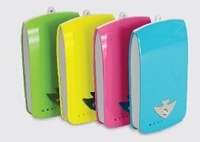 4000mAh portable power pack, external battery PB-5F for cell phone and everyday basics portable battery power