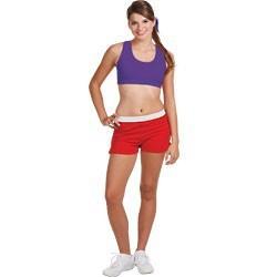 Customized With sublimation digital Cheerleading bra ,yoga bra