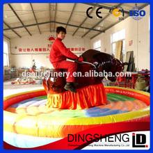 Amusement park rides make mechanical bull ,inflatable bull ring