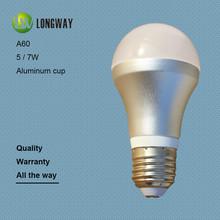 5W 7W E27 LED bulb