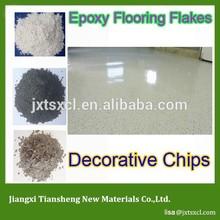 Decorative Flake Epoxy for unlimited design capabilities transform ordinary concrete into limitless pallette of design
