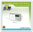 Mini AM FM portable radio cheapest USB FM radio