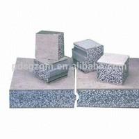eps sandwich panel for floor/ EPS Cement composite board /sandwich panel for Prefab villa /house