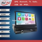 Huifei Powerful 10 Band Eq 10 Virtual Discs Hd 1080P Support Iphone Ipod Music Player 1 Din