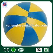 kids gift craft mini leather basketballs ball
