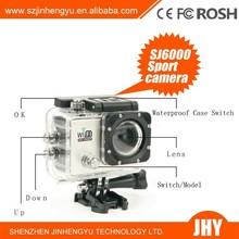 Portable hd mini hd 1080p digital video recording 30M waterproof sj6000 wifi sport camera