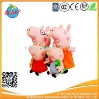 hot sale cartoon pig stuffed plush toy