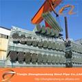 Hd aço gi pipe/galvanizado de abastecimento de água da tubulação/galvanizado tubo flexível de metal na china fornecedor