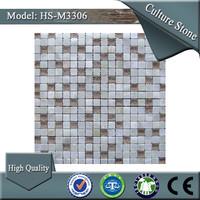 HS-M3306 decorative transparent natural stone mosaic table patterns