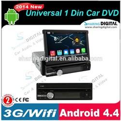 S-DVD7909GDA MP3 CD car radio with gps for Universal 1 Din Car DVD