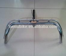Hebei Tieniu factory bicycle CP handle bar stem for 28 bike 500mm length 200 height TNSHD-001