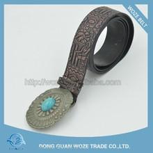 classicism señoras de la pu de cuero cinturones de diamantes deimitación