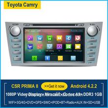 Car multimedia gps for Camry with GPS/Bluetooth/Radio/SWC/3G internet/ATV/iPod/DVR