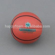 6.3cm Soft basketball stress ball
