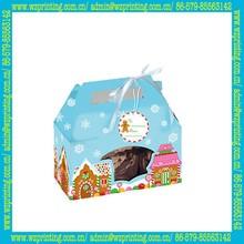 china custom popular pvc box packing for cake