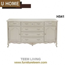 2014 U-Home french style living room furniture fire-resistant cabinet cabinet H541