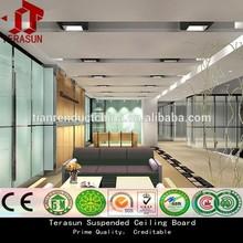 CE approval lightweight waterproof Class A1 fireproof ceiling panel