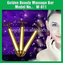 New Model Massager Vibrating Electronic 24K golden Beauty Pen