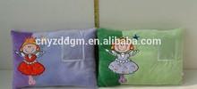 long animal pillow cushion/plush animal cushion for kids