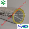 expandable flexible aluminum insulation conduit lightweight duct sealant
