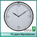 """12 """" plastic quartz presente do negócio de relógios de parede importador made in china"""