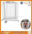 metal pet expansível portão porta de segurança do bebê criança cão para casa