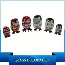 Branded Animal Glass Home Decor