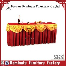decorative ice silk table skirt
