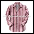 Promotion accepter votre propre label causalité hommes rayé dashiki africaine chemise