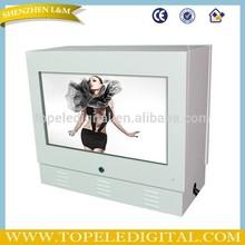 21.5 inch outdoor lcd digital monitor IP65 advertising display 3G/WIFI multimedia player
