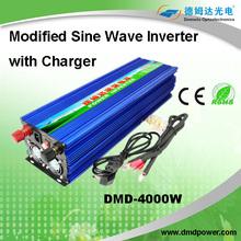 dc 24v to ac 220v 4kw modified sine wave ups inverter battery charger battery