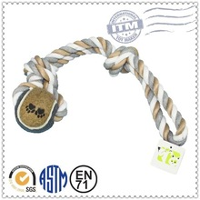 The newest style customized custom Pet Products rope toy for dog