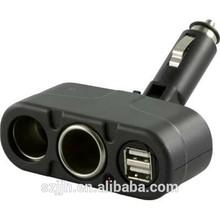 Car Cigar Lighter Socket Splitter, 3 Way Socket Cigarette Lighter adaptor