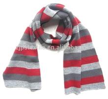 warm muffler winter neckerchief 100% acrylic shawl for ladies womens bandelet neck warmer head wear striped knitted scarf