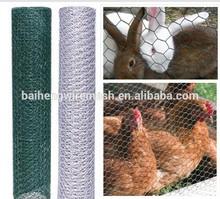 hot dipped galvanised hexagonal fence netting