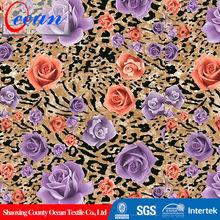 Ocean China wholesale 40S poplin cotton print fabric for dress