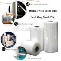 2014 china manufacture stretch plastic film stretch pallet film