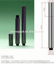 2.8ml glossy gold empty click mechanism water brush pen